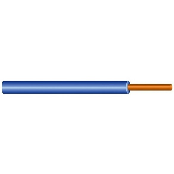 MCU vezeték 1x1,5mm2 kék PVC szigetelésű tömör réz erű M-Cu H07V-U (MCU)
