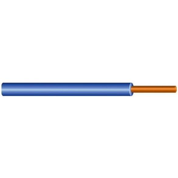 MCU vezeték 1x2,5mm2 kék PVC szigetelésű tömör réz erű M-Cu H07V-U (MCU)