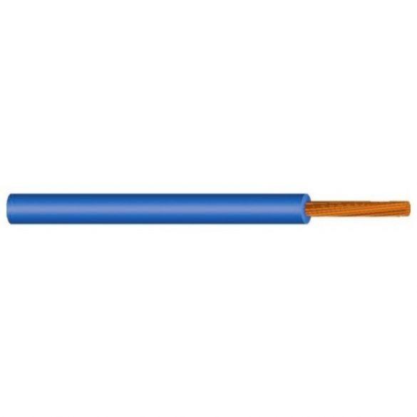 MKH vezeték 1x2,5mm2 kék PVC szigetelésű sodrott réz erű M-kh H07V-K (MKH)