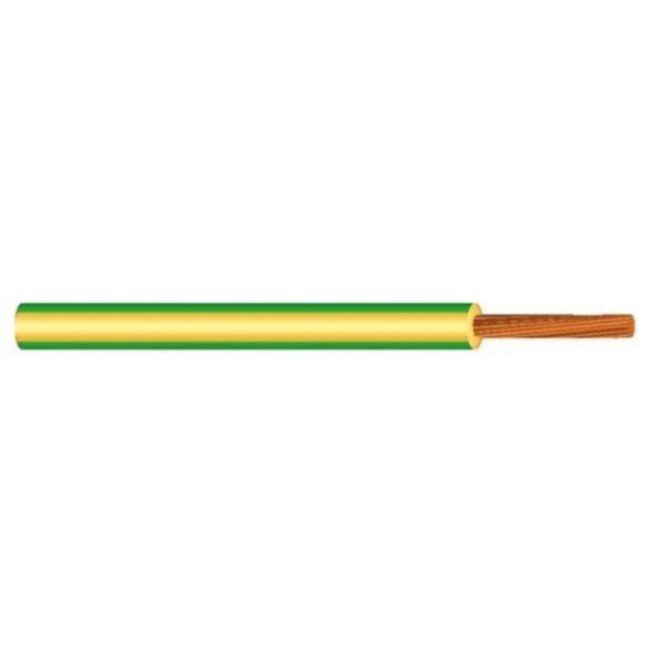 MKH vezeték 1x2,5mm2 zöld-sárga PVC szigetelésű sodrott réz erű M-kh H07V-K (MKH)