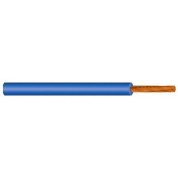 MKH vezeték 1x4mm2 kék PVC szigetelésű sodrott réz erű M-kh H07V-K (MKH)