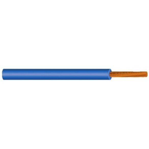 MKH vezeték 1x6mm2 kék PVC szigetelésű sodrott réz erű M-kh H07V-K (MKH)