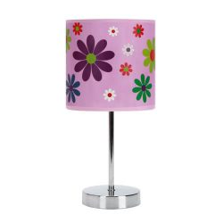 STRÜHM 03651 NUKA E14 PINK Gyerek asztali lámpa, íróasztal