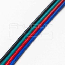 Vezeték 4-eres színes 4x0,35mm2