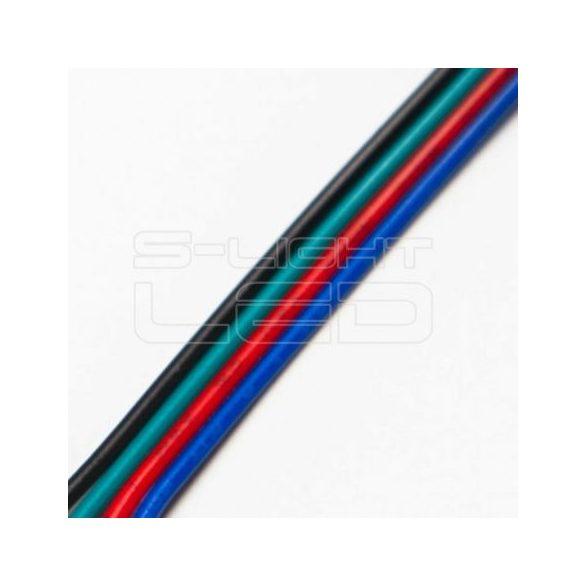Vezeték RGB 4-eres színes 4x0,35mm2