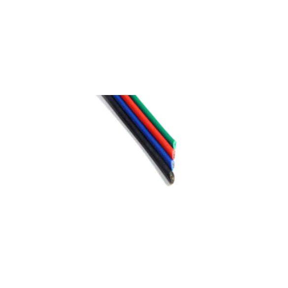 Vezeték RGBW 5-eres színes 5x0,35mm2