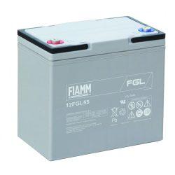 Fiamm 12FGL55 12V 55Ah akkumulátor
