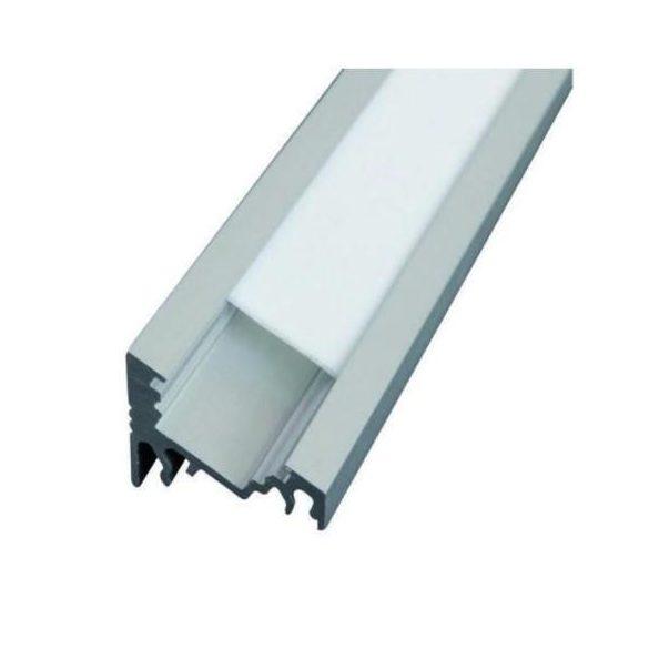 TM-profil LED Corner eloxált alumínium 2000mm