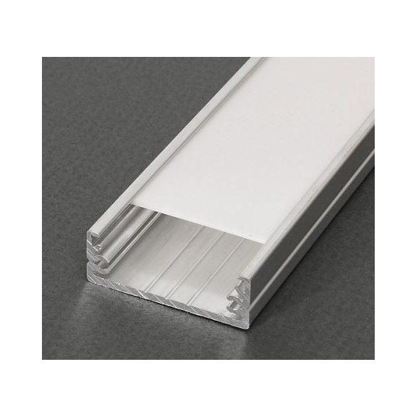 TM-profil LED Wide nyers alumínium 2000mm