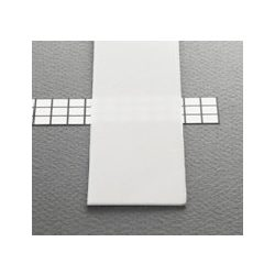 Topmet TM-takaró profil LED profilokhoz becsúsztatható tejfehér szín 2000mm (B)