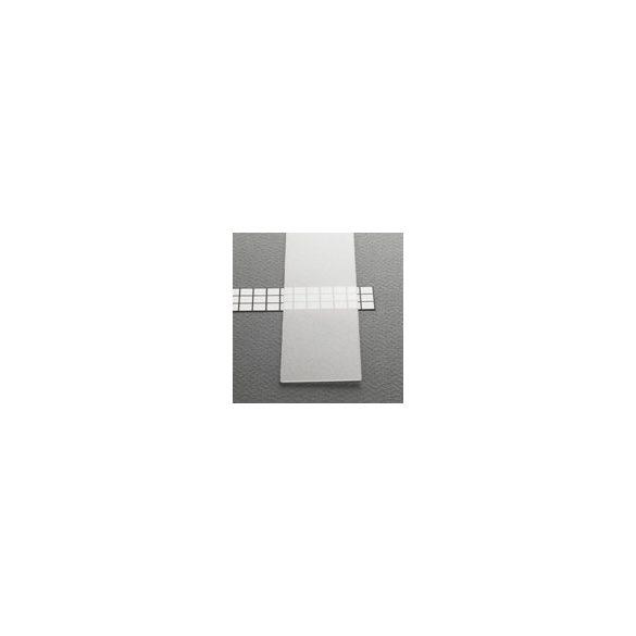 Topmet TM-takaró profil LED profilokhoz becsúsztatható transzparens 2000mm (B)