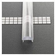 TM-takaró profil LED profilokhoz lencse alakú rápattintható transzparens 2000mm