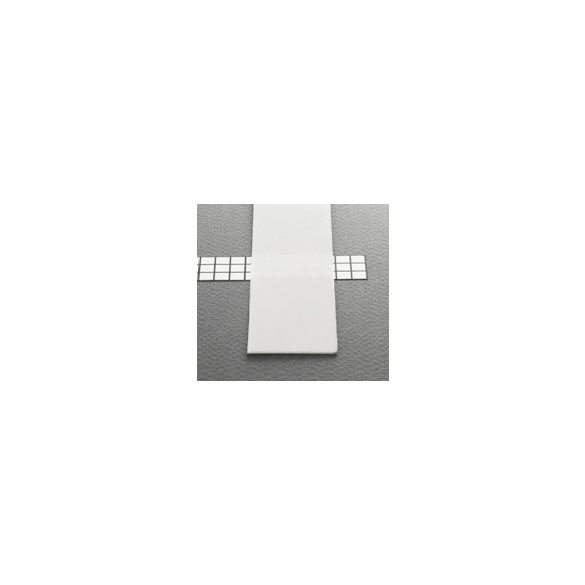 TM-takaró profil Wide profilhoz befűzős tejfehér 2000mm (G)