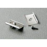 TM-rugós rögzítő elem LED profilhoz párban U