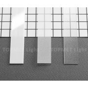 TM-takaró profil Slim/Smart profilhoz befűzős transzparens 2000mm (A)