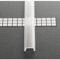 TM-takaró profil Pen profilhoz rápattintható transzparens 2000mm