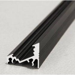 Topmet TM-profil LED Corner alu fekete 2000mm