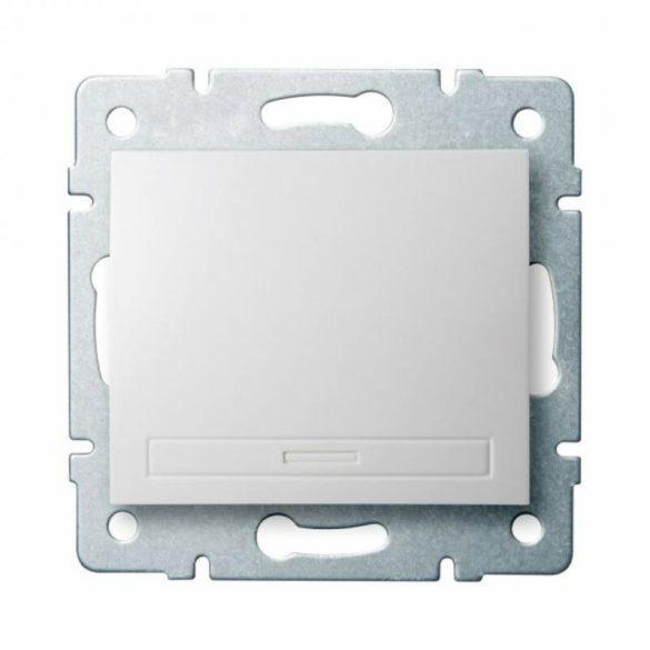 Kanlux 24710 DOMO 01-1000-202 fehér egypólusú kapcsoló (101)