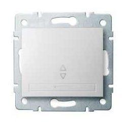 Kanlux 24717 DOMO 01-1050-202 fehér alternatív kapcsoló (váltókapcsoló 106)