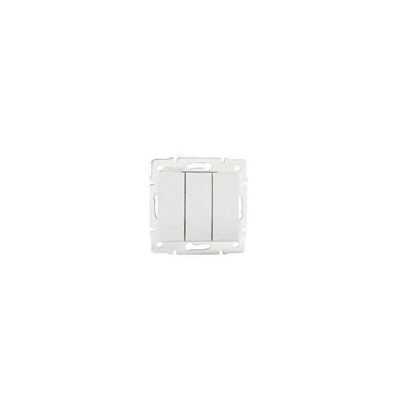 Kanlux 24721 DOMO 01-1090-202 fehér hármas csillárkapcsoló