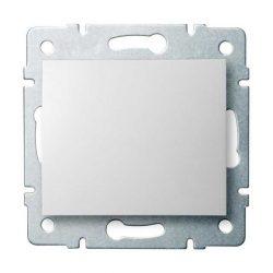 Kanlux 25068 LOGI 02-1021-102 fehér egypólusú nyomókapcsoló