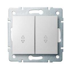 Kanlux 25073 LOGI 02-1060-102 fehér dupla alternatív kapcsoló