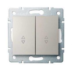 Kanlux 25133 LOGI 02-1060-103 krém dupla alternatív kapcsoló