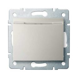 Kanlux 25143 LOGI 02-1190-103 krém hotel kártyás kapcsoló késleltetővel