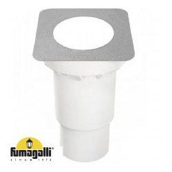 Fumagalli CECI 160 SQUARE LED 10W GX53 szürke kültéri talajba süllyeszthető lámpa 269982 3F4.000.000.LXD1K
