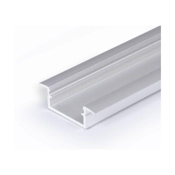 Topmet TM-profil LED Begtin alu fehér 2000mm