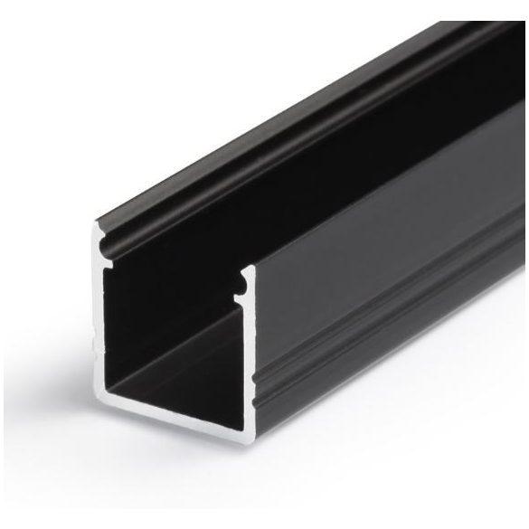 Topmet TM-profil LED Smart alu fekete 2000mm