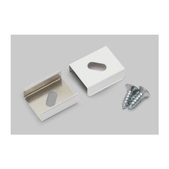 Topmet TM-rugós rögzítők Smart_Slim fehér párban Z