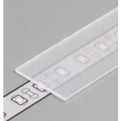 TM-takaró profil Cabi profilhoz befűzős transzparens 2000mm (E)