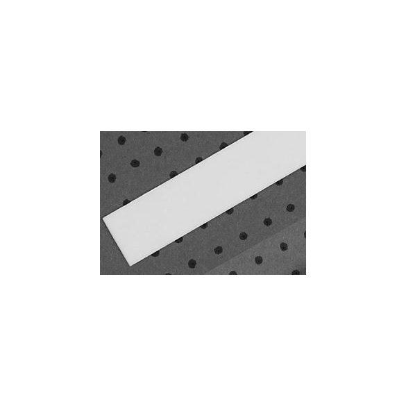 Topmet TM-takaró profil Cabi profilhoz befűzős tejfehér 2000mm (E)