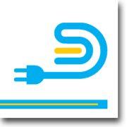 Led multikapcsoló 12/24V sárga ledjelző, profilba, LED szalagra forrasztható