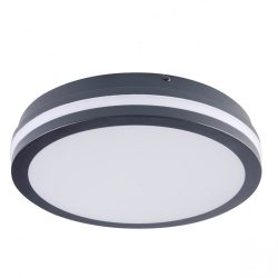 Kanlux 3335 BENO 24W NW-O-SE GR mozgásérzékelős lámpa, grafit, kerek