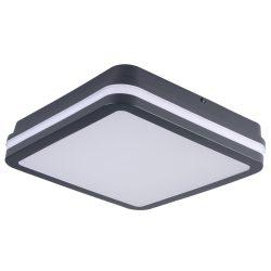 Kanlux 33347 BENO 24W NW-L-SE GR mozgásérzékelős lámpa, grafit, négyszögletes