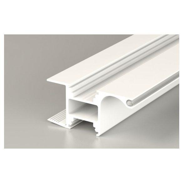 TM-profil Lucera rápattintható alu fehér lakk 2000mm