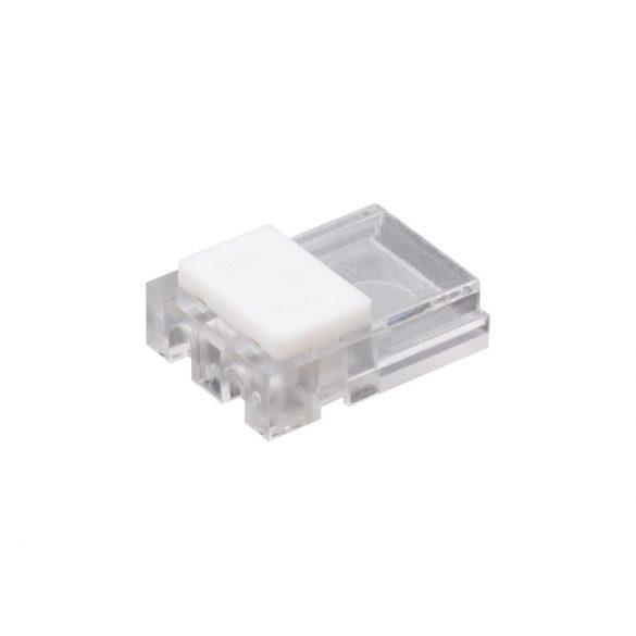 Gyorscsatlakozós LED szalag 10mm /bepattintható kábel