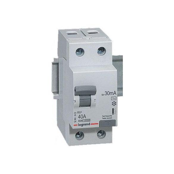 Legrand 402037 RX3 áram-védőkapcsoló 2P 40A A 30MA