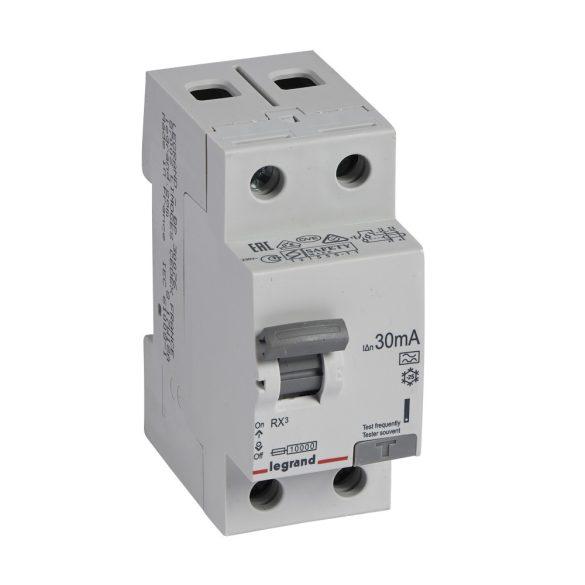 Legrand 402038 RX3 áram-védőkapcsoló 2P 63A A 30MA