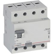 Legrand 402075 RX3 áram-védőkapcsoló 4P 40A A 30MA