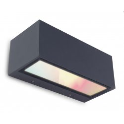 LUTEC GEMINI Kültéri le-fel világító fali LED lámpa 13W 2700-6500K&RGB 900lm IP54 5189120118