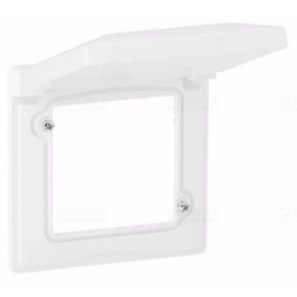 Valena Life keret 1-es vízszintes és függőleges műanyag fehér IP44 LEGRAND