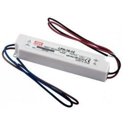 MEAN WELL 18W LPH-18-12 LED tápegység 12VDC