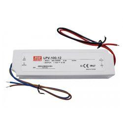 MEAN WELL 100W LPV-100-12 LED tápegység IP67