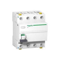 Schneider A9Z24440 A9 iID 4P 40A 300mA A-típus áramvédő Schneider 4 pólusú