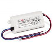 MEAN WELL 12W APV-16-12  LED tápegység 12VDC