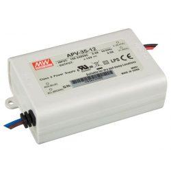 MEAN WELL APV-35-12 LED tápegység, 36 W, 12 VDC