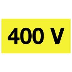Öntapadó vinil matrica 60x20mm sárga - 400V! 20db/levél